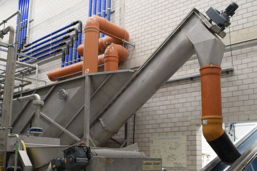 Solids separator – grit separator of Leiblein