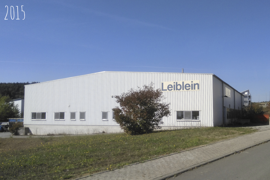 2014-2015 – New warehouse for the Leiblein company