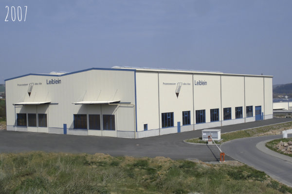 2007 – New production hall for Leiblein