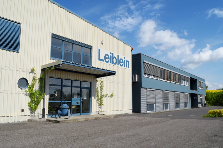 Entrance area of the Leiblein GmbH